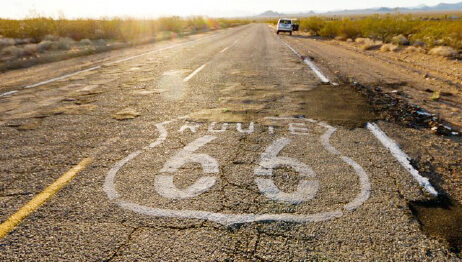 Route 66 tours USA