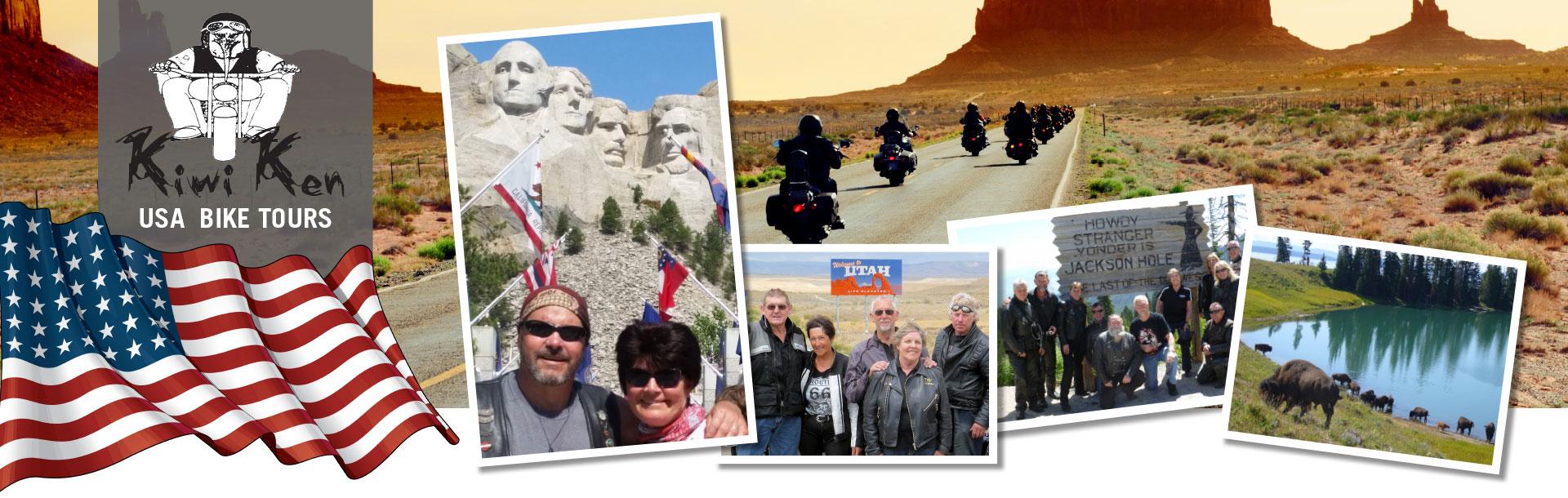 USA motorbike tours